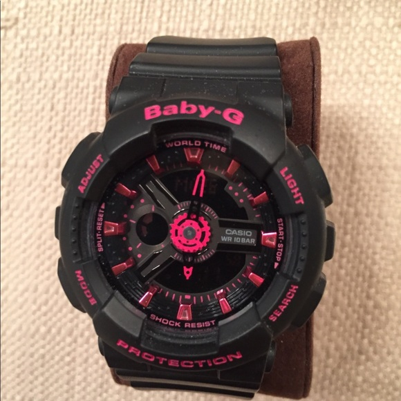 9201592563 Baby G Shock Pink and Black